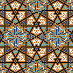 Treffende Rosetten Muster Design