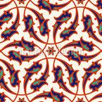 Italian Renaissance Seamless Vector Pattern Design