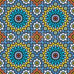 Marokkanische Freude Nahtloses Vektormuster