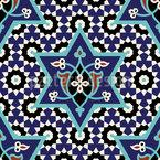 Marokkanische Prinzessin Nahtloses Vektormuster