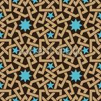 Marokkanisches Sternchen Rapportiertes Design