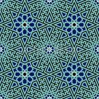 Stil von Marrakesch Rapportmuster