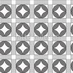 Zebrastreifen Kreise Vektor Design