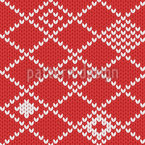 Granny Knits Vector Ornament