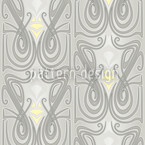 Undine Crystal Seamless Vector Pattern Design