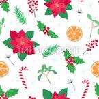 Gewöhnliche Weihnachtsartikel Nahtloses Vektor Muster