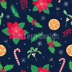Übliche Weihnachtsartikel Vektor Muster