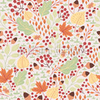 Forest Autumn Pattern Design