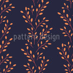 Barberry Twigs Pattern Design