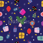 Flashy Gifts Seamless Vector Pattern Design