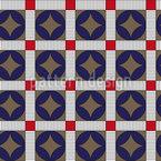 Zebrastreifen Kreis Vektor Muster