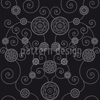 Irana In The Dark Seamless Vector Pattern Design