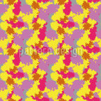 Camouflage de clown Motif Vectoriel Sans Couture