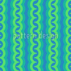 Water Snakes Repeating Pattern