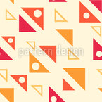 Angled Triangles Vector Pattern