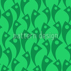 Chain Of Abstract Figures Vector Design