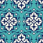 ペルシャ宮殿 シームレスなベクトルパターン設計