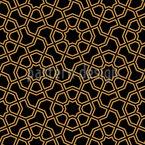 Artesanato mourisco Design de padrão vetorial sem costura