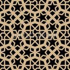 Maurischer Prinz Nahtloses Vektormuster