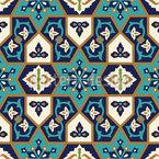 アラブ貴族 シームレスなベクトルパターン設計