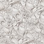 ウーリーヘア シームレスなベクトルパターン設計
