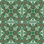 Renaissance Art Seamless Vector Pattern Design