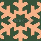 Schneeflocke-Ausschnitte Nahtloses Vektormuster