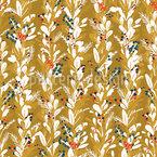 縞模様のミストレトー シームレスなベクトルパターン設計