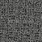 Língua antiga Design de padrão vetorial sem costura