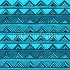 Triângulos excepcionais Design de padrão vetorial sem costura