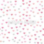 Valentinstag Herzen Nahtloses Vektormuster