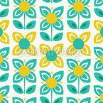 Floraison printanière Motif Vectoriel Sans Couture