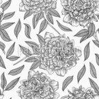 巨大な花 シームレスなベクトルパターン設計