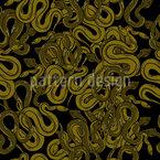 Die Schlangengrube Musterdesign