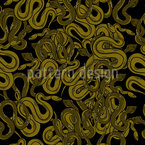 The Snake Pit Seamless Vector Pattern Design