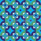 Kreis-Mosaik Vektor Muster