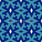 Arabischer Teppich Vektor Muster