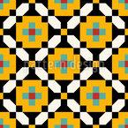 Moderne Berber Kunst Rapportiertes Design