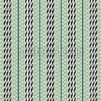 Pastel Green Stripes Vector Pattern