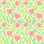 Meadow Of Love Seamless Vector Pattern