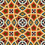 Moderna África do Norte Design de padrão vetorial sem costura