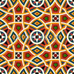 Modernes Nordafrika Rapportiertes Design
