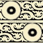 Samarkand Bordüren Vektor Design