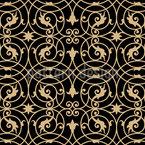 Viktorianisches Schmiedeeisen Designmuster