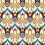 Tribo Norte Africano Design de padrão vetorial sem costura