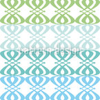 Ocean Nouveau Repeat Pattern
