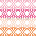 Fruity Nouveau Seamless Vector Pattern Design