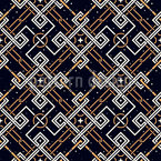 Echo Of The Mind Seamless Vector Pattern Design