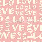 Liebe Liebe Liebe Vektor Ornament