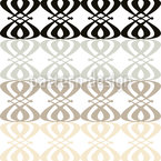 Neutral Nouveau Seamless Vector Pattern Design